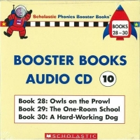 Phonics Booster Books Audio CD 10 ^(Book 28~3