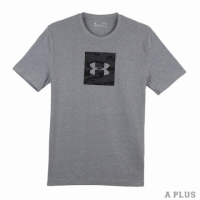 【Under Armour】Under Armour 男 HG 能量棉CAMO BOXED LOGO短 UA 圓領T(短)- 1297954035
