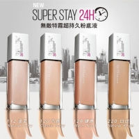 Maybelline媚比琳 無敵特霧超持久粉底液 30ml【BG Shop】4款可選