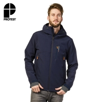 【PROTEST】男 軟殼外套 (地表藍) CARRIER SOFTSHELL OUTERWEAR JACKET
