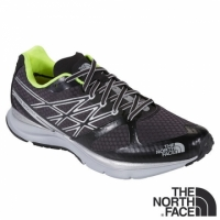 The North Face 男 越野跑鞋 黑/日光黃 CLX5