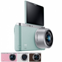 超殺福利品 SAMSUNG SAMSUNG NX mini 9-27mm KIT變焦鏡 微單眼 自拍
