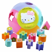 【Hello Kitty】Puzzle Ball 形狀拼圖對應球