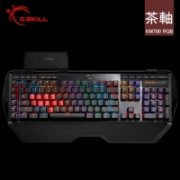 G.SKILL RIPJAWS KM780 英文 RGB 全彩背光 電競鍵盤 Cherry MX RGB 茶軸