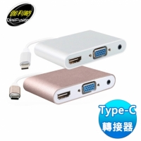 伽利略Digifusion Type-C HDMI(4K2K) + Audio / VGA (TCHVAU)