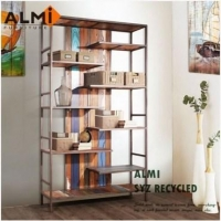 ALMI SYZ RECYCLED~BOOK CABINET 船板復古書架