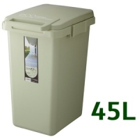 eco container style 連結式環保垃圾桶森林系45L-淺綠色