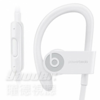 【曜德】Beats Powerbeats 3 Wireless 白 無線藍芽 運動型耳掛式耳機 防汗