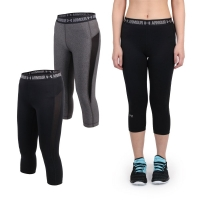 UNDER ARMOUR HG Coolswitch女緊身七分褲( 路跑 慢跑【06360529】