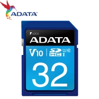 【ADATA 威剛】32GB 50MB/s SDHC SD UHS-I C10 記憶卡