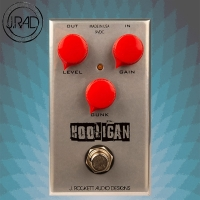【JREG】J.RAD Hooligan Fuzz 破音效果器/美國製手工品牌/J.Rockett Audio Designs/贈導線