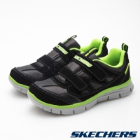 SKECHERS (童)男童系列Flex Advantage- 95479LBKLM