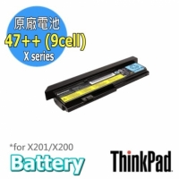 ThinkPad Battery 47++ (9cell)  43R9255【X200/X201/X201s】Lenovo原廠電池 小高黑店