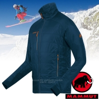 【瑞士 MAMMUT 長毛象】男款 Eigerjoch Pro IS Jacket 超輕型防風保暖外套/Pertex.PrimaLoft Gold /18370-5325 深藍