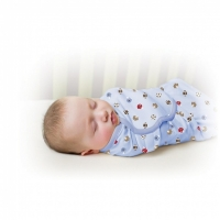 【onemore】代購 正品Summer Infant swaddle me懶人包巾 純棉款,單入 S號適用0-3個月共7款(棒球)