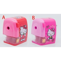 X射線【C962438】Hello Kitty 可調式削筆機(開學必備/文具/事務用品/削鉛筆機/送禮)