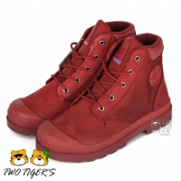 【PALLADIUM】新竹兩隻老虎童鞋 PAMPA HI CUFF WPN Waterproof 紅色 防水短童靴 NO.R2220(55171-653)