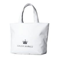 【CRYSTAL BALL】GALSIA MARKEZ Crown Canvas Tote Bag休閒帆布包