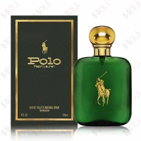 Ralph Lauren Polo Eau de Toilette Spray 綠色馬球男性淡香水118ml