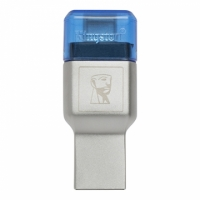Kingston 金士頓【FCR-ML3C】MobileLite DUO 3C USB3.1 Type-C 讀卡機 支援 microSD/microSDHC