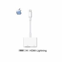 【神腦貨 盒裝】Apple Lightning Digital AV 原廠轉接器 HDMI 傳輸線 iPhone 5 5C 5S SE 6 6S 7 8 i5 i6 i7 i8 Plus