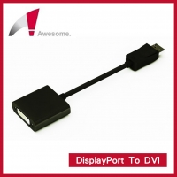 Awesome 主動式DisplayPort To DVI 轉接器 支援 ATi Eyefinity A00240013(主動式DisplayPort To DVI 轉接器)