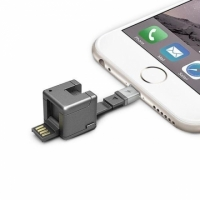 【WONDERCUBE】8 合 1 隨身多功能小方塊 - Apple MFI Lightning + Micro USB