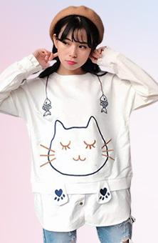 韓系配色顯瘦套裝