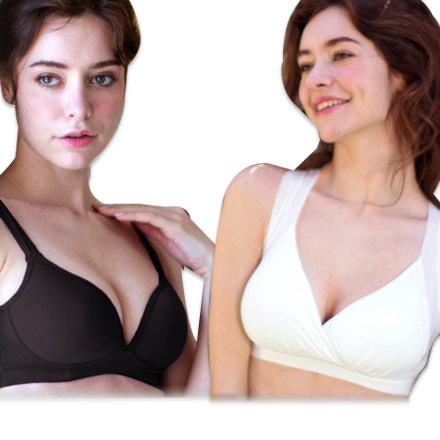 舒芙蕾輕盈透氣創新隱形無鋼圈胸罩